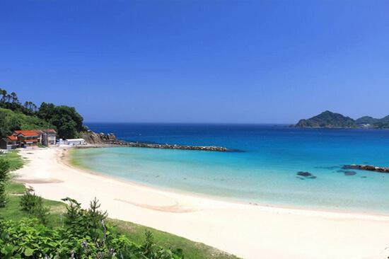 夏休みに絶対行きたい!美保関の笹子ビーチ