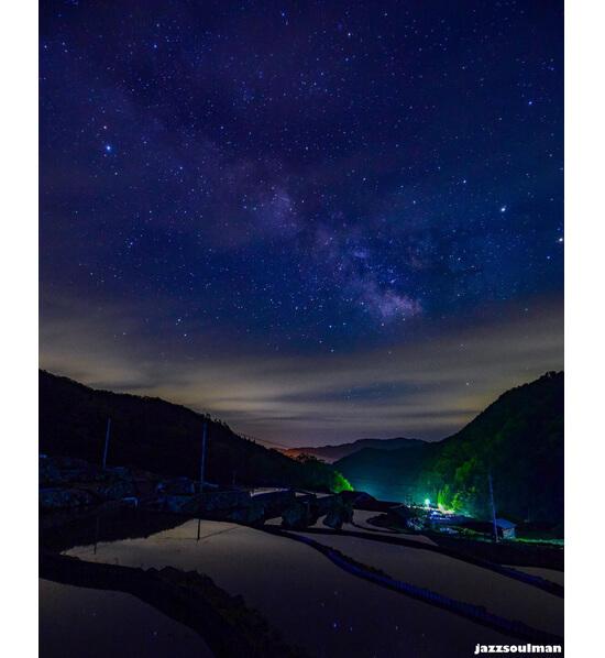 星降る里山の景観!大井谷棚田
