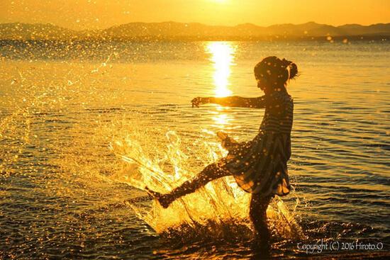 日本夕日100選!黄金色に輝く宍道湖