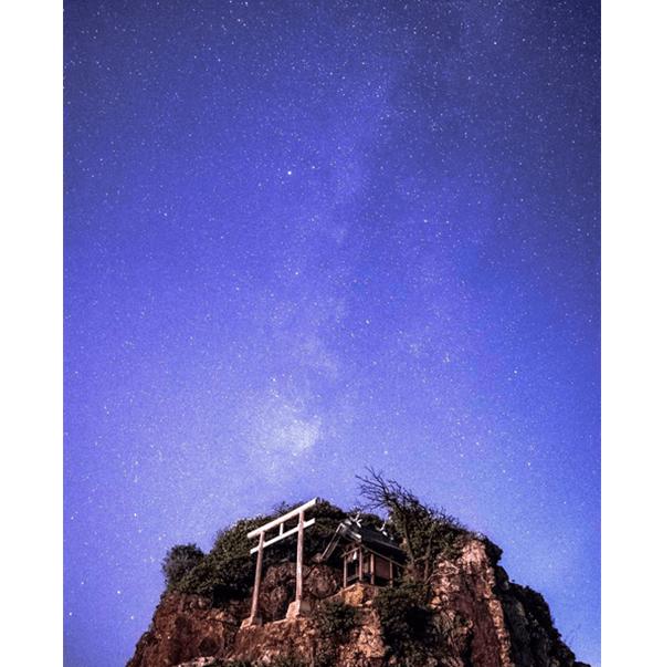 星降る稲佐の浜