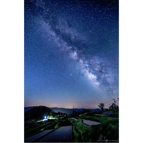 星降る里山の景観!山王寺の棚田