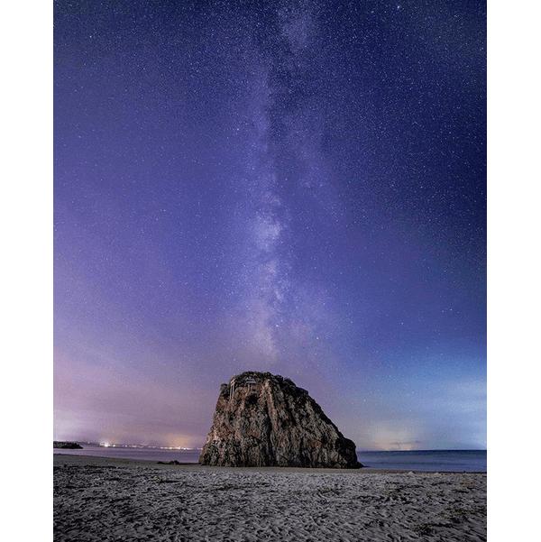 国譲り神話の舞台!満点の星降る稲佐の浜